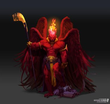 Artstation Challenge - The Red King by saint-max