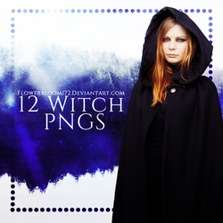Witch PNG Pack 1 by FlowerBloom172