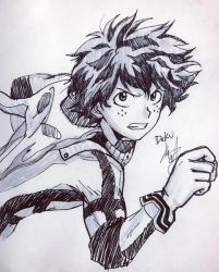 Deku by StrixArt