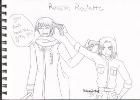 Russian Roulette by TheDarknessWolf