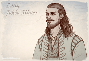 Black Sails: John Silver by maryallen138