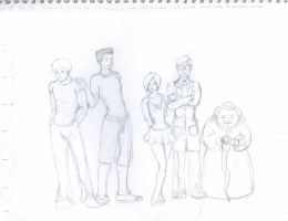 First Rights Character Pencils by tsau-mia