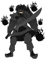 The Crossover Game: Lee (Sage Mode Susano'o Armor) by LeeHatake93