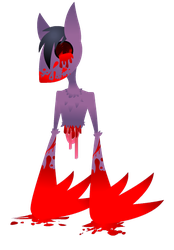 A totally not maimed creature by blackRAVENsong