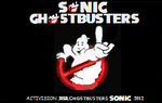 Sonic Ghostbusters official title screen by Ghostbustersmaniac