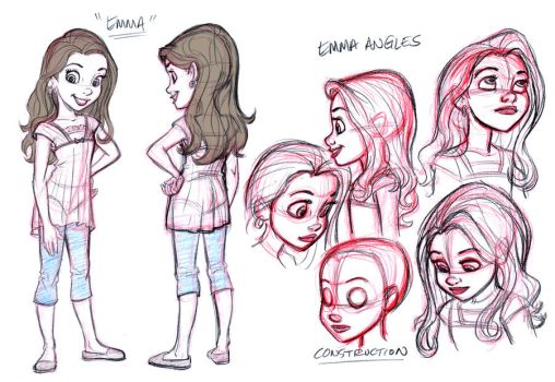 Emma_ model design by tombancroft