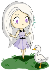 Ava and Swan by rachie-may845