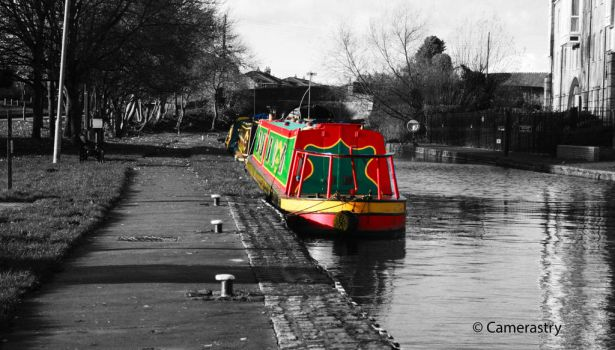 A Colourful Boat by Camerastry