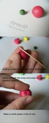 Tomato Polymer Clay Tutorial by paperfaceparade