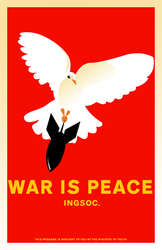 War Is Peace by kitten-boy
