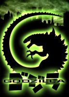 Godzilla 98 Poster by Art-Minion-Andrew0