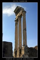 Temple of Castor and Pollux by Keith-Killer