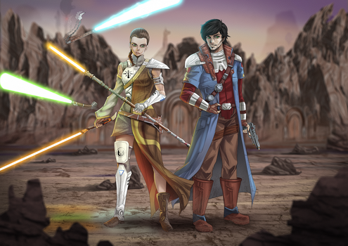 Protectors Of The Temple by opcrom