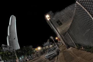 Downtown Miami II by Aerostylaz