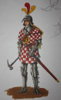 Unifide Saxon Army Foot Soldier by Shasiel