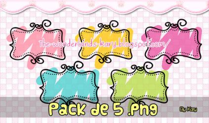 Pack de lindos png by By-Kary