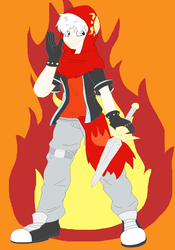 AT: .:King of the Fire:. by CottonCatTailToony