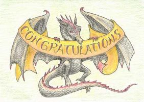 Draconic Congratulations by metasilk