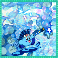 Bubble Kirby - Breezy Seafoam by Plucky-Nova