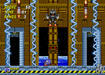 [PIXEL ART] Sonic 2 - Overpowered Mecha Sonic by AnthonyBlender
