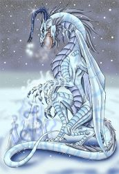Ice-queen by mythori
