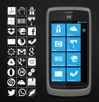 Launcher7 icons set 1 by scope66