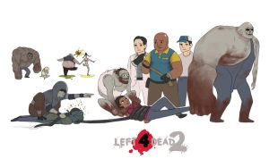Left 4 Dead 2 by blackbookalpha