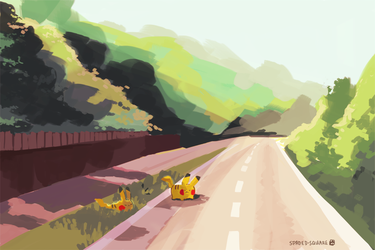 Pikachus by spaded-square
