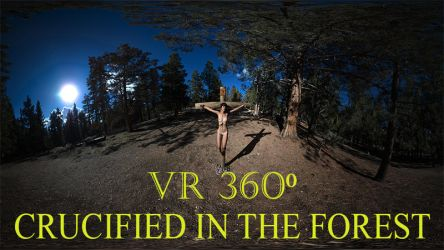 Crucified in the forest 360 thumbail by passionofagoddess