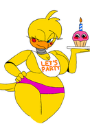 Hot Toy Chica  by LuckyEmerald269