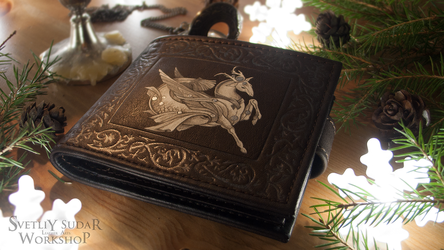 Leather wallet Capricorn by Svetliy-Sudar