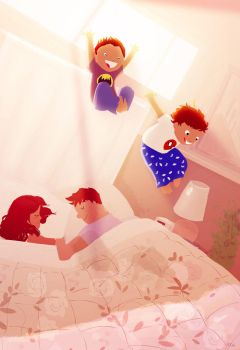 New house, new bed, NEW FUN!! by PascalCampion