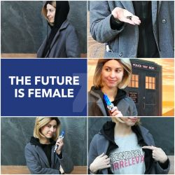 Cosplay aesthetic - 13th Doctor by ArwendeLuhtiene