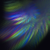 rainbow feather by duf20