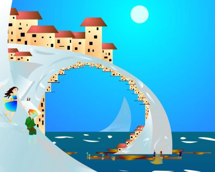 Town of Outcast by PolicromaSol