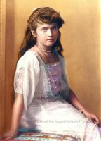 Grand Duchess Anastasia by Blood-of-the-Dragon