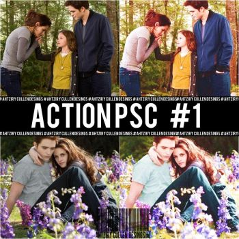 Action 1 for Photoscape by ArzCullenEditions