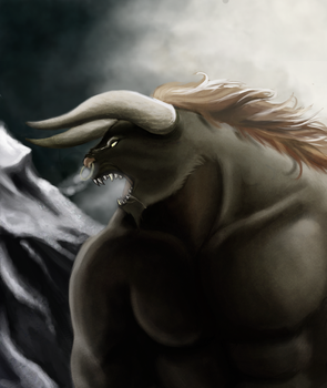 Myron: The Beast by MidnightZone