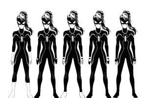 Spidergirl Designs by Ari-Spike-Nadelman