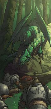 Green Dragon by nJoo