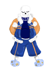 Outertale Sans by AshFisher