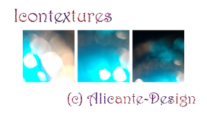 Icontextures Pack (Bokeh) by Alicante-Design
