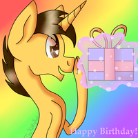Happy Birthday Cisco by TheKittyKatUnion