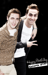 +Happy Birthday Heffron Drive. by RosiiEditions