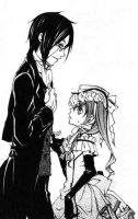 Sebastian x Ciel by DownSpade