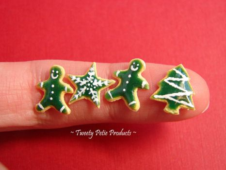 Green Variety: Christmas Cookies by birdielover