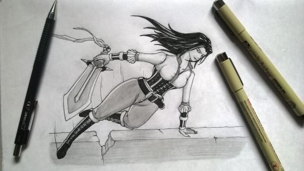 Dynamic pose Practice by VivekJagtap