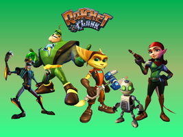 Ratchet and Clank Wallpaper by 9029561