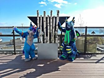 Driggies_Our Newest Fursuits by SolitaryGrayWolf