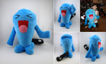 Wobbuffet plushie by Koreena